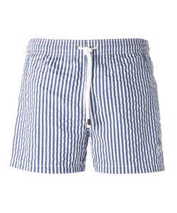 BORRELLI | Striped Shorts M