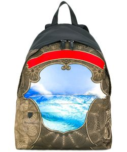 Givenchy | Ocean Print Backpack Acrylic/Polyamide