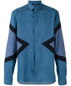 Neil Barrett | Symmetric Triangular Print Shirt Size 40