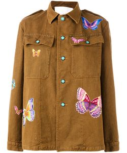 Giada Benincasa | Butterfly Patches Boxy Jacket Size 2