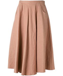 Forte Forte | Full Skirt I Cotton/Linen/Flax