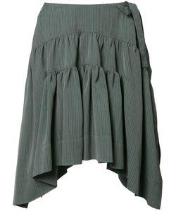 J.W. Anderson | J.W.Anderson Drape Mini Skirt 10 Viscose/Silk