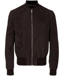 Alexander McQueen | Zip Front Bomber Jacket Size 50 Calf