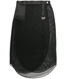The Reracs | Perforated Wrap Skirt Size 36