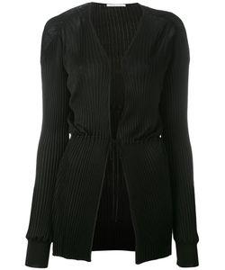 Agnona | Ribbed Tie Waist Cardigan Size 42
