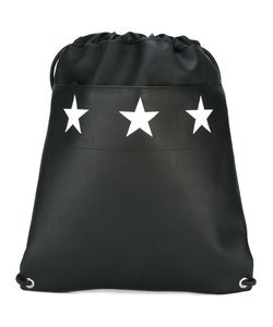 Givenchy | Star Print Drawstring Backpack Calf Leather