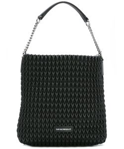 Emporio Armani | Textu Shoulder Bag Cotton/Polyester/Polyurethane