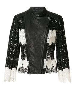 Yigal Azrouel | Mod Lace Leather Jacket 6