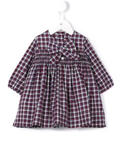 LITTLE BEAR | Checked Smock Dress Infant 6 Mth