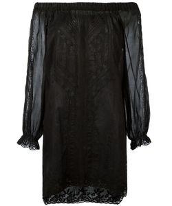Ermanno Scervino | Off Shoulder Lace Mini Dress
