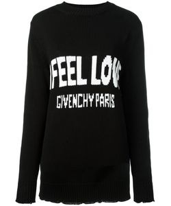 Givenchy | Love Intarsia Knit Jumper Small Cotton