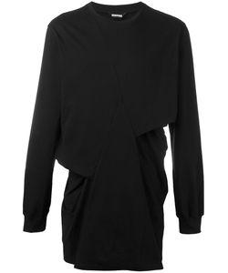 MOOHONG | Longsleeved Pleated T-Shirt 46 Cotton