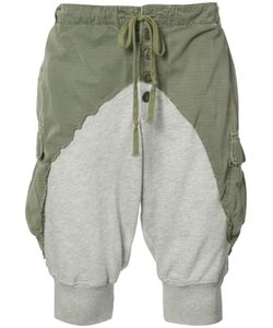 GREG LAUREN | Jersey And Shell Shorts Size 2