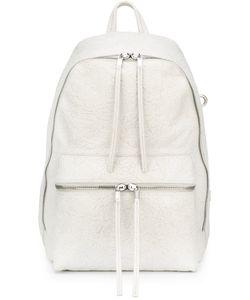 Rick Owens | Fringe Zip Backpack Leather