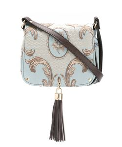 Xaa | Embroide Crossbody Bag Cotton/Artificial Leather