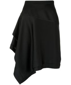 GLORIA COELHO | Asymmetric Skirt Size G Acetate/Polyester
