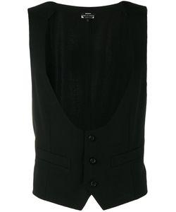 COMME DES GARCONS HOMME PLUS | Comme Des Garçons Homme Plus Frayed Edge Waistcoat Size Small