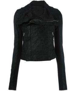 Rick Owens | Classic Biker Jacket 40 Cotton/Linen/Flax/Viscose/Lamb Nubuck