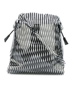 PLEATS PLEASE BY ISSEY MIYAKE | Geometric Pattern Shoulder Bag