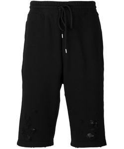 Maison Mihara Yasuhiro | Distressed Jersey Shorts Size 44