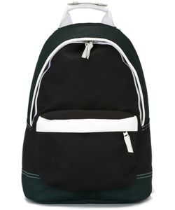 Ami Alexandre Mattiussi | Zip Backpack Leather/Nylon