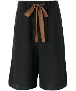 ZIGGY CHEN | Elasticated Belted Shorts