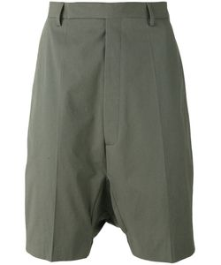 Rick Owens   Drop-Crotch Shorts 48