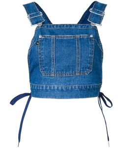 G.V.G.V. | Denim Dungaree Top 36 Cotton