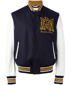Alexander McQueen | Insignia Bomber Jacket 50 Cotton/Polyamide/Spandex/Elastane/Viscose