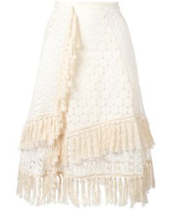 See By Chloe | See By Chloé Crochet Laye Skirt 36 Cotton/Polyester/Viscose