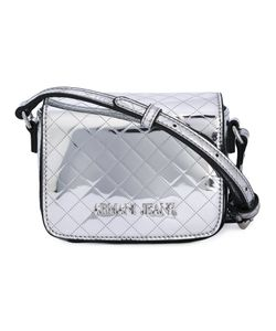 ARMANI JEANS | Quilted Logo Shoulder Bag