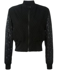 PS PAUL SMITH | Ps By Paul Smith Sheer Cropped Bomber Jacket 44
