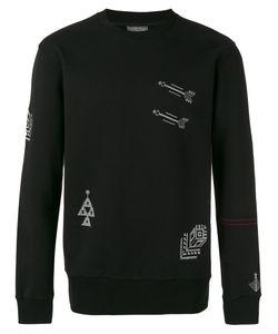 Lanvin | Embroidered Motif Sweatshirt Size Large