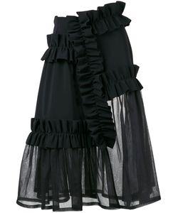 PASKAL   Ruffle Panel Sheer Skirt