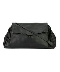 MA+   Fold-Over Closure Crossbody Bag Adult Unisex Horse Leather