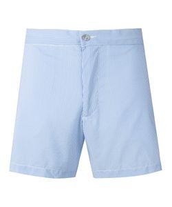 Officine Generale   Stripy Swim Shorts Size Medium