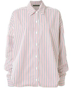 Y / PROJECT | Striped Loose Fit Shirt Women