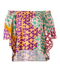 Tsumori Chisato | Off-Shoulders Shift Blouse 1 Rayon/Cotton
