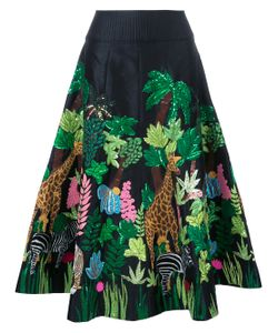 Manish Arora | Safari Embellished Midi Skirt