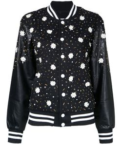 Night Market | Embellishment Bomber Jacket Xs Polyester/Cotton