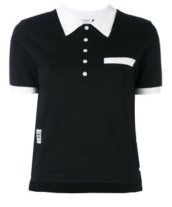 Thom Browne | Contrast Collar Polo Shirt