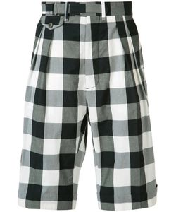 Ports | 1961 Checked Shorts 50 Cotton