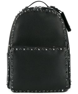 Valentino | Garavani Rockstud Rolling Backpack Leather/Suede/Metal