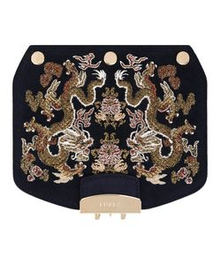 Furla | Embroidered Metropolis Crossbody Bag