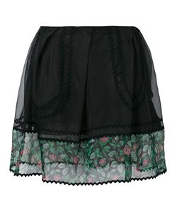 COACH | Sheer Detail Mini Skirt