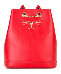 Charlotte Olympia | Feline Embroidered Backpack
