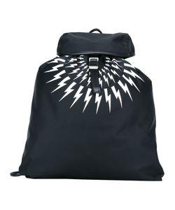 Neil Barrett | Light Bolt Backpack Polyamide/Polyester