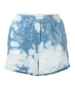 8pm   Sequin Tie-Dye Shorts Small