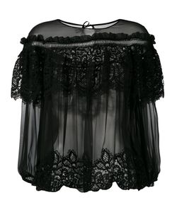 Alberta Ferretti | Layered Sheer Blouse