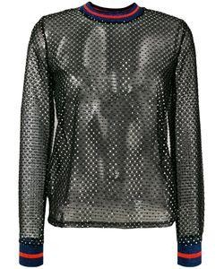 Zoe Karssen | Sequin Mesh Top Polyester/Spandex/Elastane/Polybutylene Terephthalate